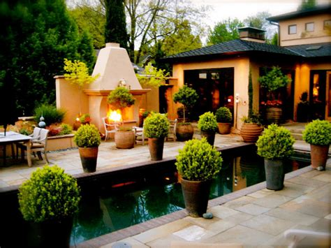 Outdoor Patio Pots How To Plant Evergreens In Containers Hgtv