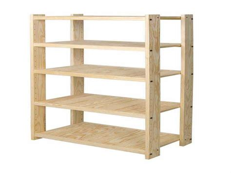 Wood Shelving Unit Plans Pdf Woodworking Wood Storage Shelves