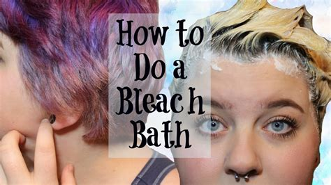do i have to put the bleach for the crimson obsession hair color how to do a bleach bath hair tutorial youtube