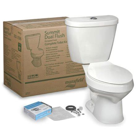 Mansfield Plumbing Fixtures by Mansfield Plumbing Products Summit Ctk Dual Flush