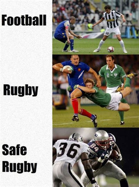 Football Player Meme - as a rugby player this is how i see sports the meta picture