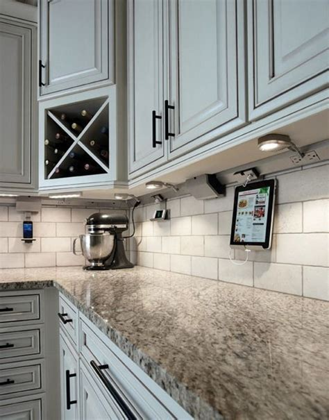 Kitchen Cabinet Outlet Stores Ingeniously Positioned Completely Disguised Electrical Outlets Someday Kitchen Ideas