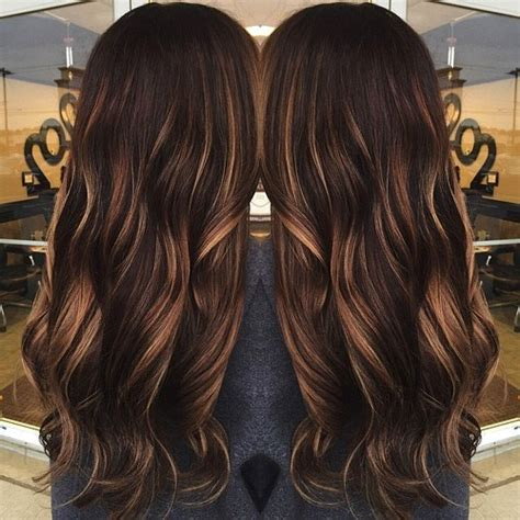 hot toffee highlights 50 chocolate brown hair color ideas for brunettes