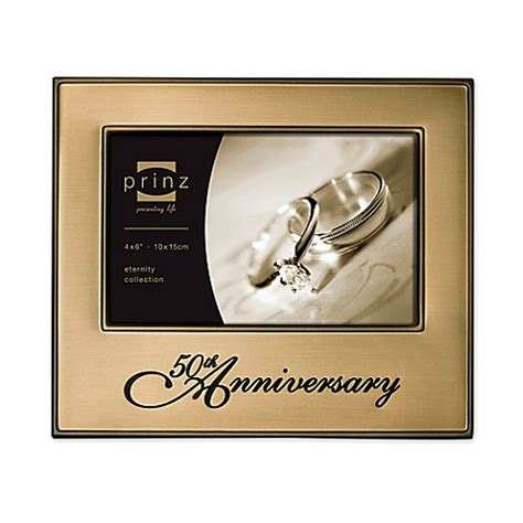 4 Inch Picture Frame by Buy Prinz 6 Inch X 4 Inch 50th Wedding Anniversary Picture
