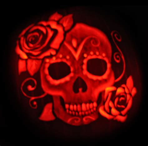 day of the dead pumpkin template vote now 2nd annual pumpkin carving contest netsource