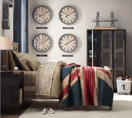 London Duvet Set Industrial Accents For A Teenage Boy S Room The House