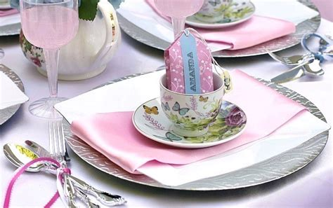 Accent Table Decor Great Ideas For A Little Girls Tea Party Celebrations At