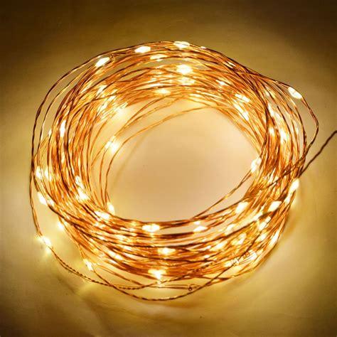 100 Warm White Led Waterproof Copper Wire Micro Fairy Copper Wire Lights