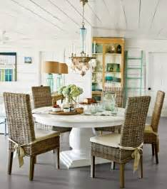 Coastal Dining Room Furniture How To Decorate Your Chandelier Style Completely Coastal