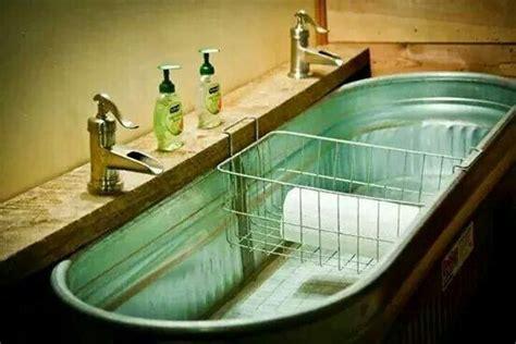 Barn Sinks For Kitchen Stock Tank Sink Home Decor I