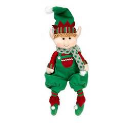 elf plush christmas stuffed toys 12 quot boy and girl elves set of 2 holiday plush characters