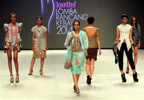 Kebaya Kartini 23 fashion show lomba rancang kebaya 2014 majalah kartini