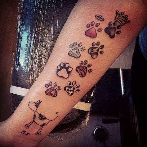 best tattoo printer best 25 paw print tattoos ideas on pinterest dog
