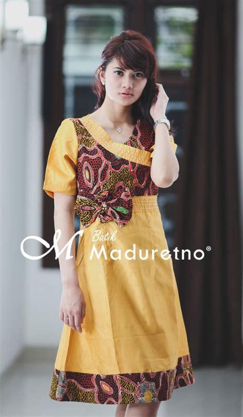 desain dress jepang dress perca batik batik maduretno indonesia fashion