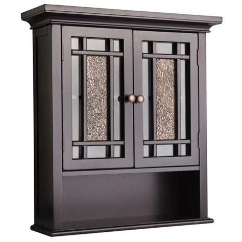 2 door wall cabinet 2 door wall cabinet in espresso elg 532