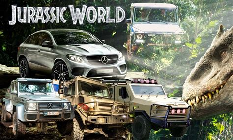jurassic world vehicles jurassic world mercedes