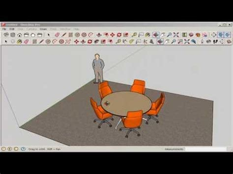 duplicate a shape around a circle using array modifier in sketchup copy and equally space around a circle radial