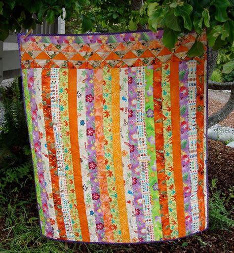 Hawaiian Baby Quilt by Modern Hawaiian Baby Quilt Craft Quilting