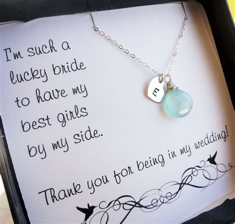 personalized bridesmaid gifts three bridesmaid thank you - Bridesmaid Gift Cards
