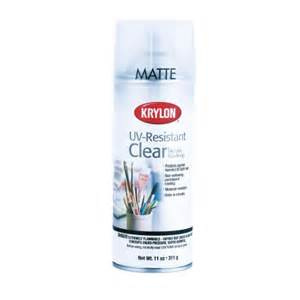 Clear Coating Spray Paint - krylon uv resistant clear coat matte finish k01309 spray paint ace hardware