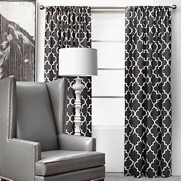 black and white geometric curtains mimosa panels zgallerie geometric curtains black and