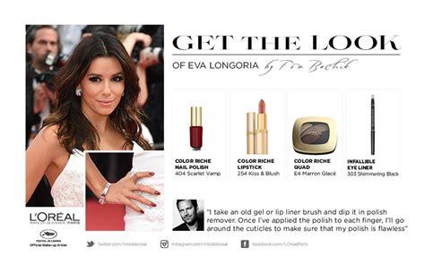 eva longoria ups the glamour for loreal paris fashion l or 233 al paris lights up cannes with its beautiful ambassadors