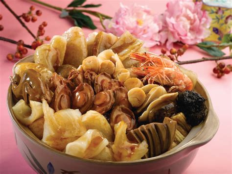 new year abalone celebrate new year with blossoms