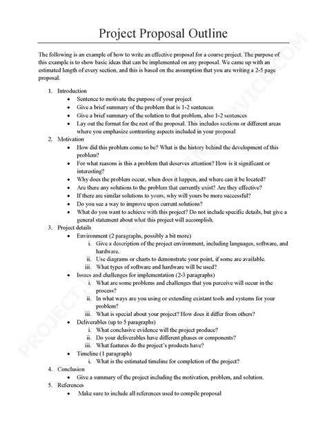 Mba Project Outline by The Means To Write A Great Mba Project Project