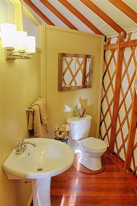 Yurt Shower by Expert Tips On Adding A Bathroom To Your Yurt Checklist