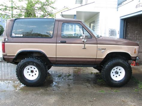 how it works cars 1984 ford bronco ii engine control trav84 s 1984 ford bronco ii in nanaimo bc