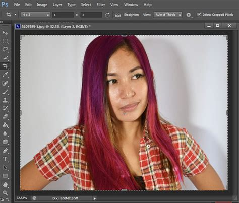 How To Change Hairstyle In Photoshop Cs6 by How To Change Hair Color In Photoshop Of Hair Color Change