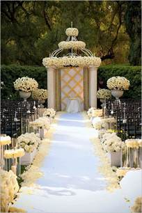 Decorations Wedding by Wedding Decorations Wedding Aisle Decoration Ideas