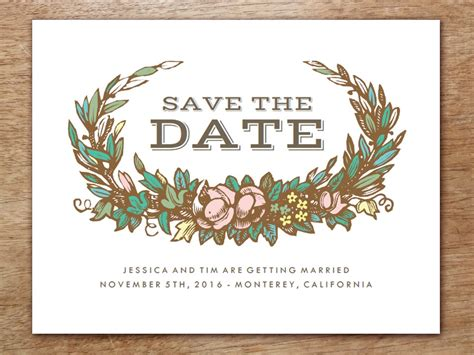 save the date cards template 2015 free calendar save the date templates search