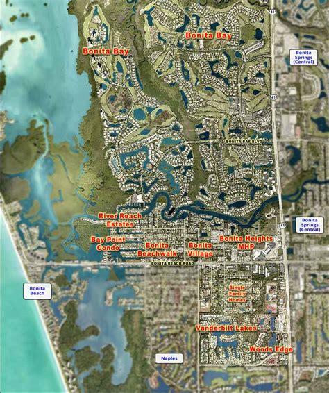 bonita springs florida map bonita springs west real estate bonita springs florida fla fl
