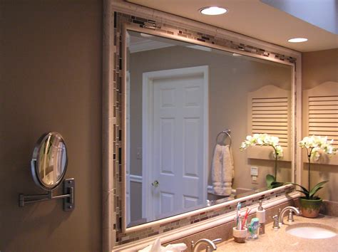 large bathroom mirror ideas bathroom vanity mirror ideas large and beautiful photos