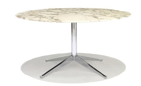 florence knoll round table hivemodern com