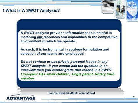 sle swot analysis template sle swot analysis template 28 images employee