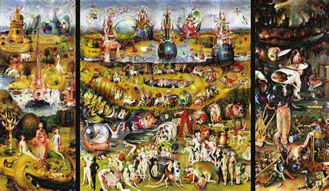 libro hieronymus bosch garden of google s new visualization tool slips slimy and furry creatures into art history