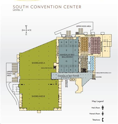 convention center floor plan mandalay bay convention center map immaginieuropa