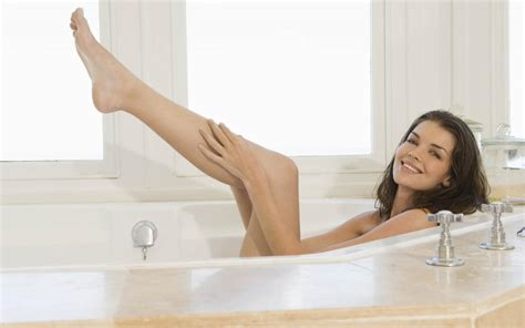 sexy legs in bathtub the easy guide to hair removal from shaving to ipl