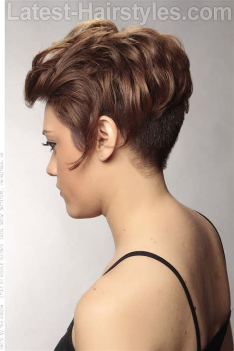 side view of asymmetric hairstyles стрижки для женщин за 40 которые молодят секреты