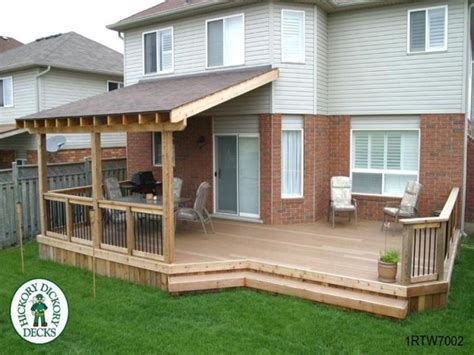 covered decks ideas roof deck plans diy build and