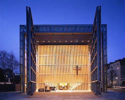 gkdmetalfabrics church   sacred heart wall clad  custom mesh interior