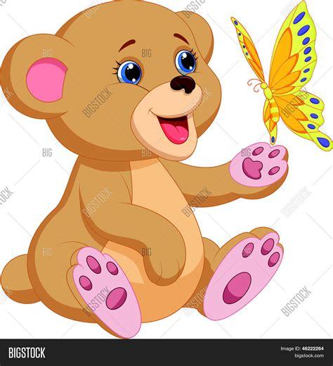 imagenes de amor animadas de osos vector y foto dibujos animados de oso lindo beb bigstock