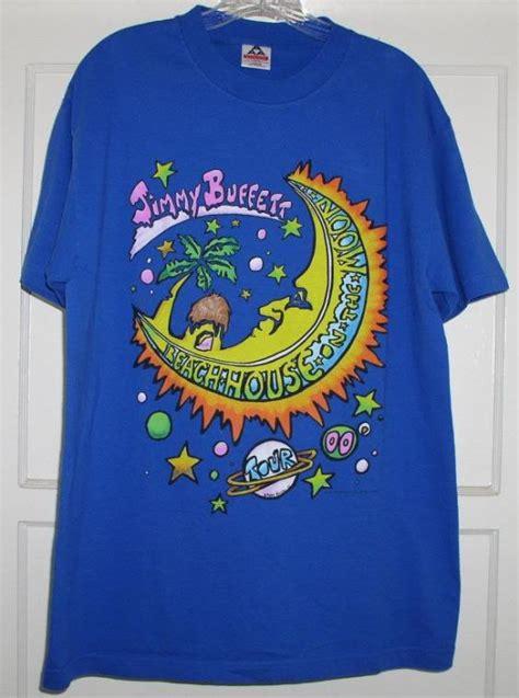 jimmy buffett parrothead concert tour t shirt 2000