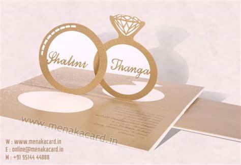 Special Wedding Invitation Card by Wedding Invitation Cards Menaka Card Chennai