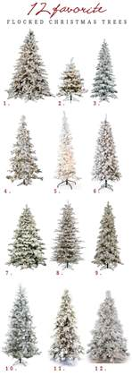 flocked tree flocked slim tree home design inspirations