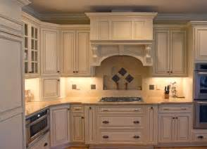 backsplash with cream cabinets kitchen remodel ideas