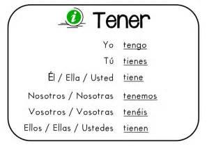 the verb tener in spanish l12 steemit