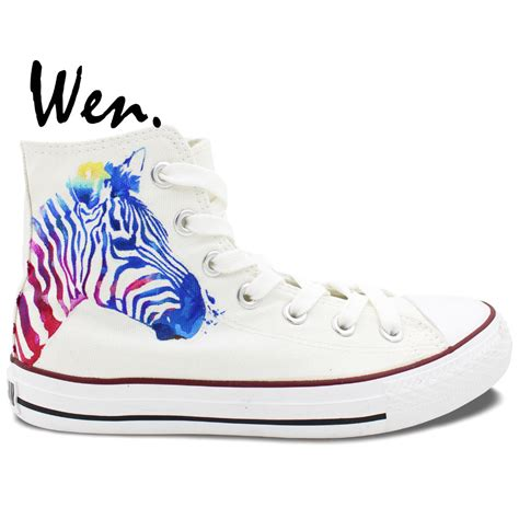 personalized shoes for zebra converse all sneakers boys design painted